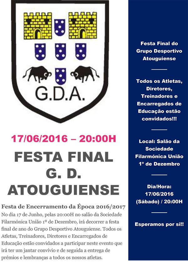 GDA Cartaz Festa Final2017