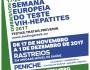 Semana Europeia do Teste VIH - Hepatites 2017 e Dia Mundial de Luta Contra a Sida